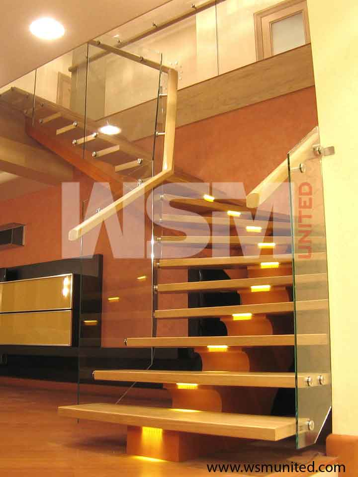 Bespoke Contemporary Curved Staircases - WSMU Ltd - Modern Curved Stairs Page7