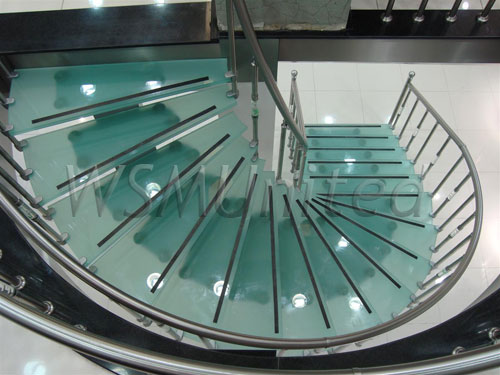 bespoke glass stairs bespoke glass staircase
